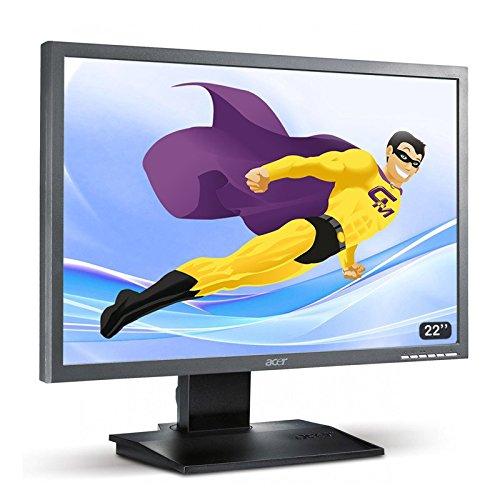 Acer Screen Flat PC 22 ' B223W LCD 1680x1050 16/10 Widescreen TFT TN VGA DVI