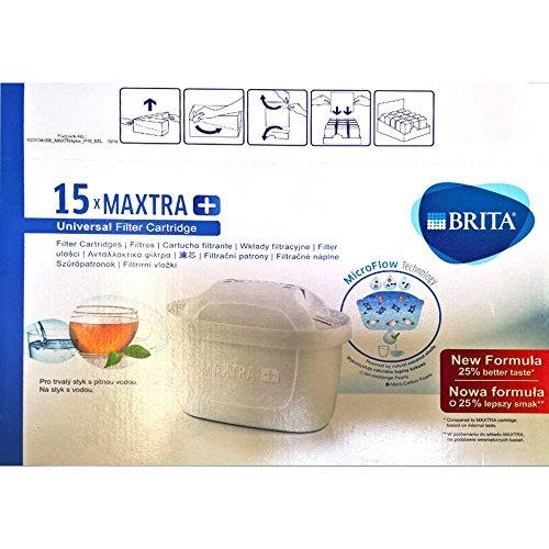 Brita 15 x Maxtra+ Wasserfilter, Filterkartusche Sparpack