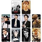 yuehuxin Effektives Exo-Album, selbstgemachte Papierkarten, K-Pop Signatur Lomo Fotokarton KT1097