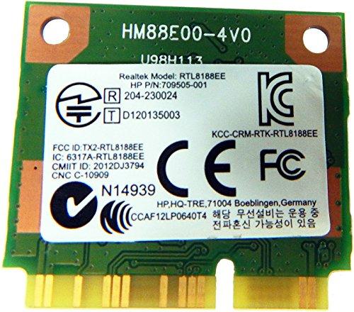 HP Realtek RTL8188EE 80211 bgn 1x1 WiFi 709848-001