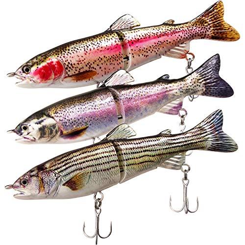 ods lure Juego de cebos de pesca con anzuelo para