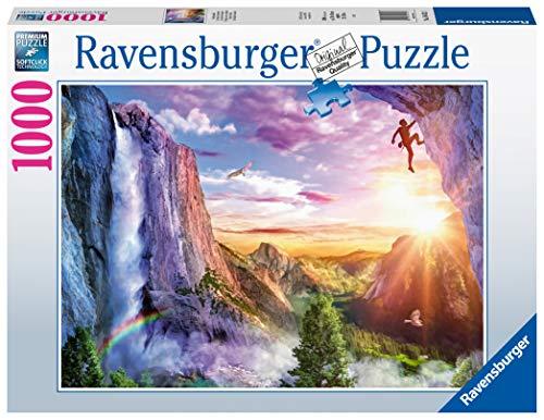 Ravensburger Puzzle 1000 Piezas, La felicidad del Escalador, Colección Fantasy, Rompecabezas Ravensburger de óptima calidad, Jigsaw Puzzle para Adultos 🔥