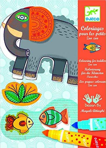 Djeco - Coloriages pour les petits - Zoo Zoo