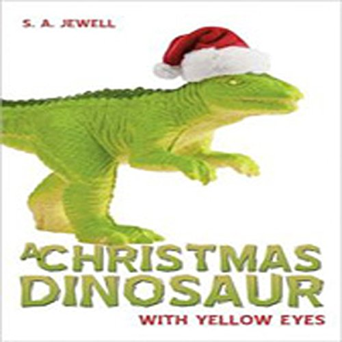 A Christmas Dinosaur audiobook cover art