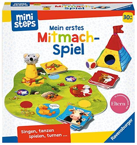 Ravensburger ministeps 4171 Mein erstes Mitmach-Spiel, lustiges Bewegungsspiel mit einfachen Regeln, Spielzeug ab 2 Jahre
