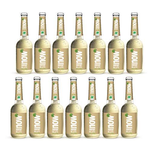 Now Holler Blüte Bio Limonade by Lammsbräu, 14 Flaschen