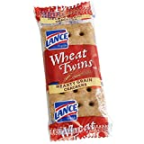 Wheat Twins Crackers - 500/Case By TableTop King
