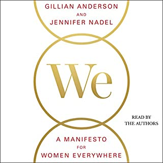 We: A Manifesto for Women Everywhere audiobook cover art