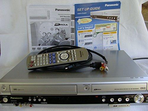 Panasonic DMR-ES46VS VHS / DVD Recorder Silver