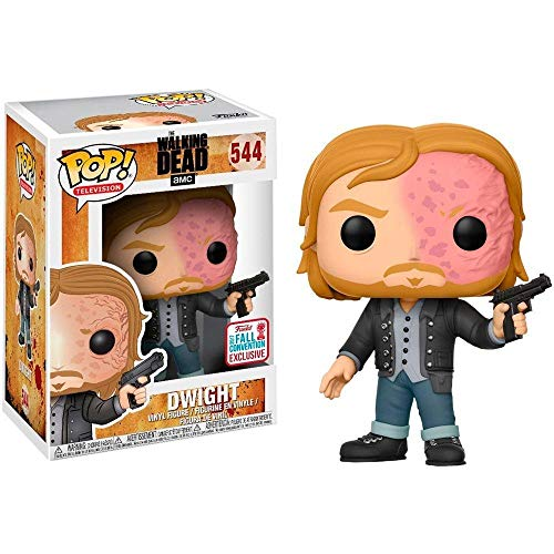 Funko - Figurine Walking Dead -Dwight Burnt Face Exclu Pop 10cm - 0889698151740