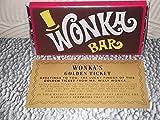 Willy Wonka Chocolate Bar with Golden Ticket.(100G BAR) Best on Amazon