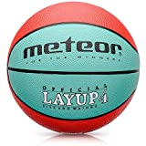 Meteor Basketball size 4 Layup Children Kids Youth Basket ball Size 4 for boy or girl – 3 to 10 Years Perfect for Training Soft Mini With Non-Slip Surface Indoor Outdoor Junior