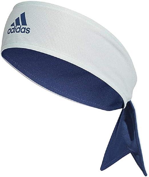 adidas Tennis Reversible Tieband - Dash Green/Tech Indigo