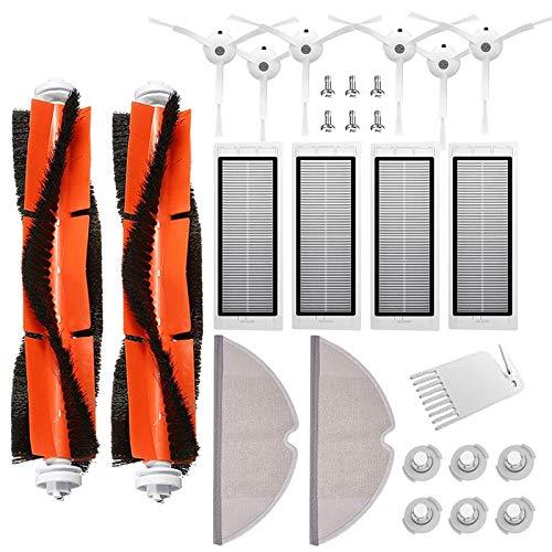 Accessori di Ricambi per Xiaomi Aspirapolvere 27pezzo, Kit di accessori per Xiaomi Mi Robot Xiaomi Roborock S50 S51 S55 S5 S6 Roborock 2