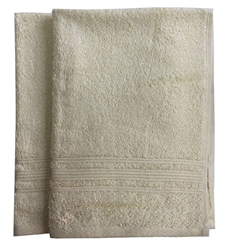 Lushomes 450 GSM Cotton Super Soft and Fluffy Hand Towels (16' x 24'') - Pack of 2