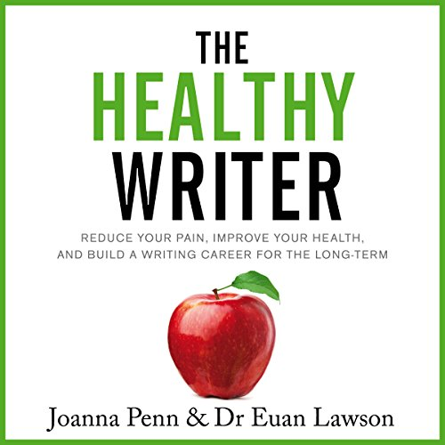 The Healthy Writer audiobook cover art