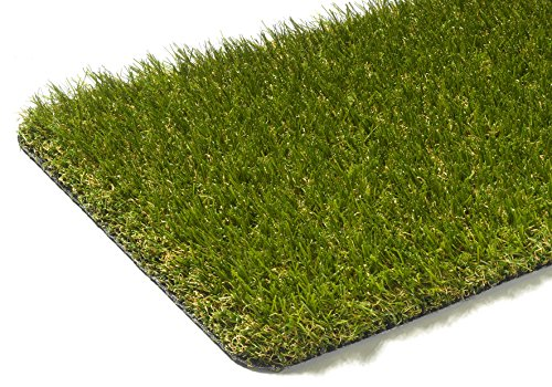 Quickgrass Stratford Luxury Pile Artificial Grass, Green, 2 x 2 m