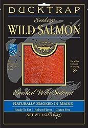 Ducktrap River of Maine Smoked Wild Sockeye Salmon, 0.25 lb