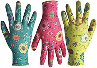 PROMEDIX Clear Nitrile Garden دستکش کار راحتی کار با دستکش کار با پوشش، سبک فوق العاده سبک، قابل انعطاف پذیر، متوسط (بیشتر از 3 جفت)