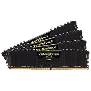 Corsair CMK64GX4M4A2666C16 Vengeance LPX 64GB (4x16GB) DDR4 2666 C16 Desktop Memory Kit for DDR4 Systems (B016ORTR1U) | Amazon price tracker / tracking, Amazon price history charts, Amazon price watches, Amazon price drop alerts