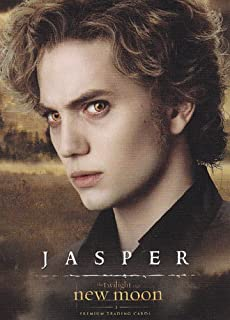 Twilight - New Moon - Single Cards - NON-SPORTS 2009 Neca New Moon Single Trading Card #06 Jasper Hale (Jackson Rathbone)