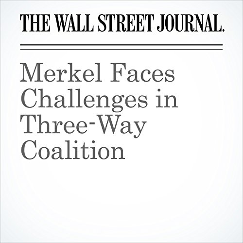 Merkel Faces Challenges in Three-Way Coalition copertina