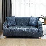 WXQY Funda de sofá Impresa Funda de sofá elástica Funda de sofá Cama Funda Protectora de Muebles a Prueba de Mascotas A12 3 plazas