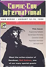 Comic Con International Program August 12-15, 1999 (Update #1)