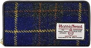 [ハリスツイード]HarrisTweed 長財布 レディース メンズ 男女兼用 ラウンドファスナー 小銭入れ
