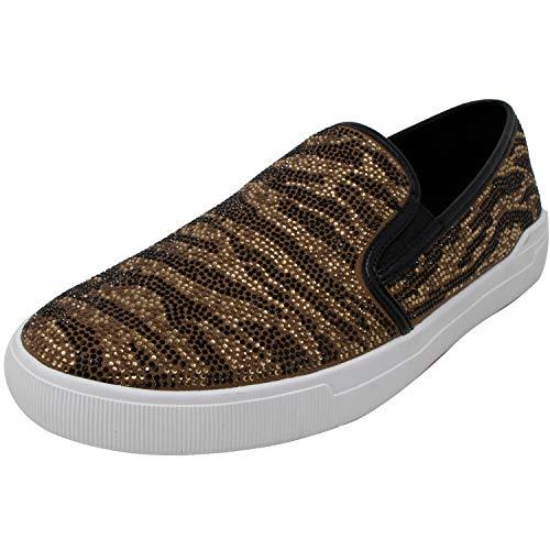 ALDO Women's Alvord Gold Ankle-High Slip-On Shoes - 9.5M