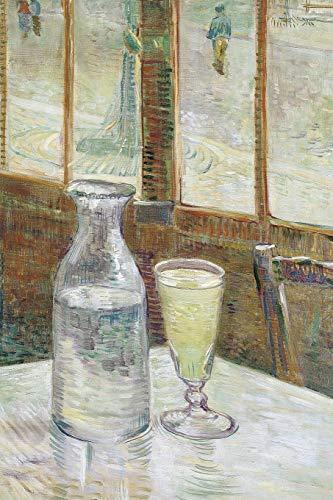 Art Journal: Cafétafel met absint - Vincent van Gogh Art Cover College...