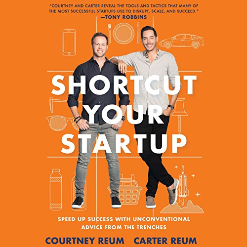 Shortcut Your Startup audiobook cover art