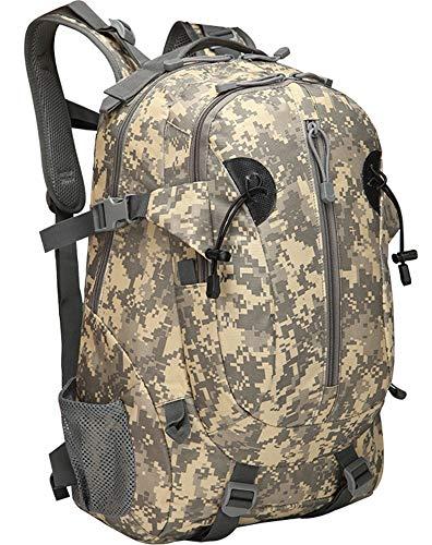 YJIUJIU Military Backpack 36L Waterproof Tactical Backpack Cycling Rucksack School Backpack for Outdoor Handy Travel Jogging Camping Fitness Climbing Hunting Mountain Fishing Men Women,A5