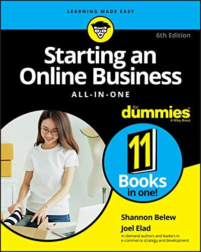 Starting an Online Business All in One For Dummies product image