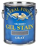 General Finishes Oil Base Gel Stain, 1 Gallon, Gray