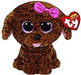 TY - Maddie, peluche perro, 15 cm, color marrón (36157TY) , color/modelo surtido
