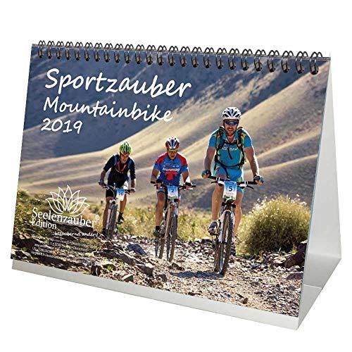 Sportzauber Mountainbike · DIN A5 · Premium Tischkalender/Kalender 2019 · Sport · Fahrrad · Trekking · Sattel · Ausrüstung · Gipfel · Gebirge · alpin · Edition Seelenzauber