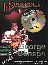 In session with george benson guitare+cd