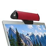 GOgroove Altavoz USB PC/Barra de Sonido Ordenador Portátil/Clip On Soundbar para Tablet y Ordenadores Portátiles Laptop como Lenovo HP ASUS Lenovo Acer Macbook Pro Air Alienware DELL y más