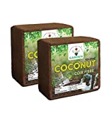Color: Brown–Color Package Contents:4.5 to 5kg Cocopeat / Agropeat Brick Made from Coconut Husks Retains moisture up to 70%. Retains Moisture, Stores And Releases Nutrients To Roots Over Extended Period Of Time Enhancing Plant Growth Ideal growing me...