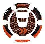 Bike-label 660005-VA - Tapa para depósito de combustible compatible con KTM 1290 Super Adventure R + S y Super Duke R