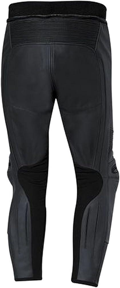 Sleekhides Men's Fashion Real Leather Racing Biker Pant
