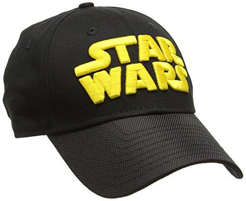 New Era 9Forty Star Wars Wordmark Cap Casquette De Baseball Homme, Noir, Taille Unique
