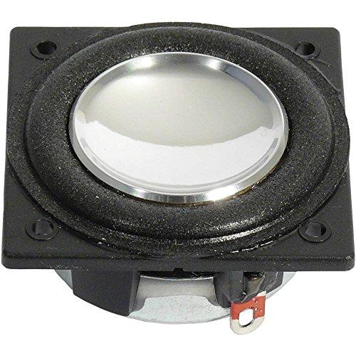 Visaton 2242 Lautsprecher für MP3-Player und iPod, Schwarz