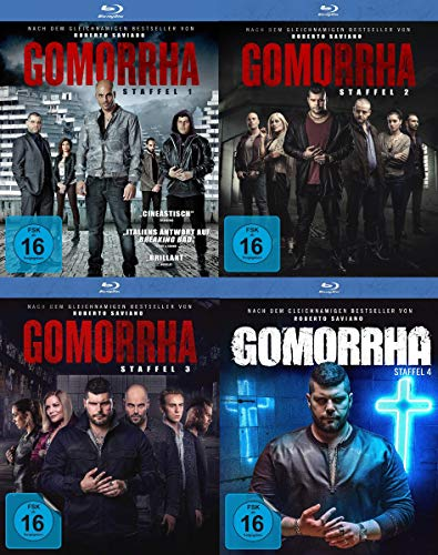 Gomorrha - Staffel 1-4 im Set - Deutsche Originalware [13 Blu-rays]