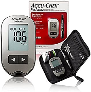 Accu Chek Performa Blood Glucose Meter and Lancing Device Fast 5 Second Test
