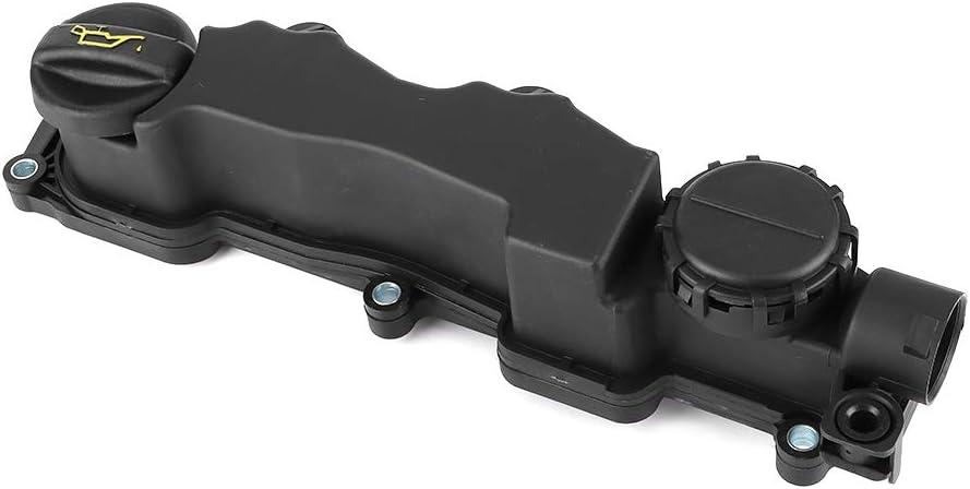 Cubierta de balancín de válvula de motor, cubierta de balancín duradera y junta apta para Berlingo C2 C3 C4 C5 Xsara 0248L1
