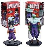 LWH-MOU 2 Unids/Set Dragon Ball Z Piccolo Gohan White Cloakd Ver Bick Brush Goku Battle Saiyan PVC Figura DBZ Colección Modelo