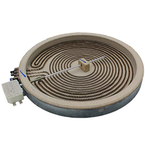 Supplying Demand WB30X24111 Element Radiant 9' Dual Glass Stove Top Surface Element Compatible With GE