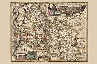 map of arras area